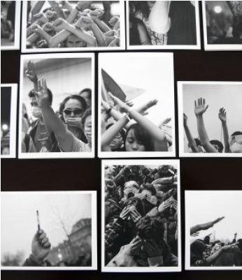 Silent Slogan, cartes postales, série de 32, 2016 - en cours, crédit photo Marianne Mispelaëre